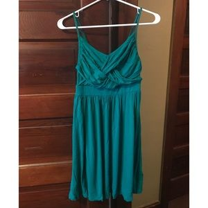 Teal Dress, Mossimo Size Small
